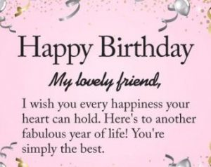 Best Friend Forever BFF Birthday Wishes Images For Bff Min