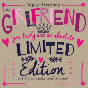 40+ Best Happy Birthday Wishes for Girlfriend GF (Quotes, Status, Greetings, Messages) 1