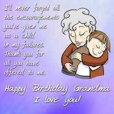 40+ Best Happy Birthday Grandma Wishes (Quotes, Status, Greetings, Messages) 5