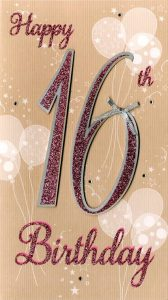 40+ Best Happy 16th Birthday Wishes (Quotes, Status, Greetings, Messages) 1