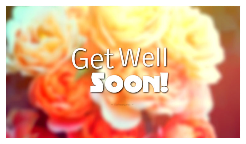 40 best get well soon messages quotes status greetings messages