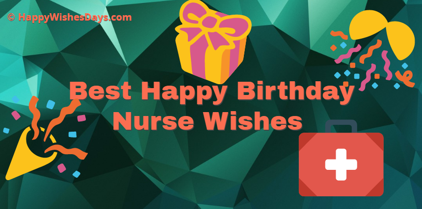happy birthday nurse