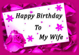 Happy Birthday Wife