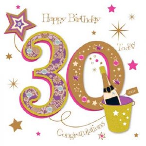 40+ Best Happy 30th Birthday Wishes (Quotes, Status, Greetings, Messages) 4