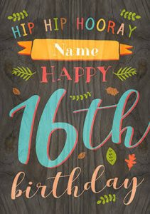 40+ Best Happy 16th Birthday Wishes (Quotes, Status, Greetings, Messages) 3