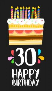 40+ Best Happy 30th Birthday Wishes (Quotes, Status, Greetings, Messages) 10
