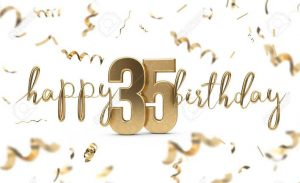 40+ Best Happy 35th Birthday Wishes (Quotes, Status, Greetings, Messages) 5